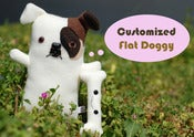 "Image of Customized Flat Doggy Plush (Classic 10"" to 12"")"
