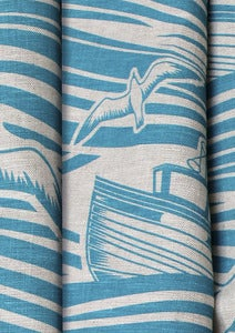 Image of Whitby Linen Fabric - Lido
