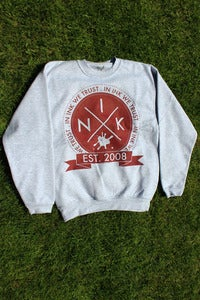 Image of Crest Grey sweat