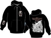 Image of MEMBRO GENITALI BEFURCATOR Rhino art Zip-Hoodie