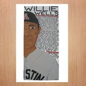 Image of Will Johnson: Limited Edition Baseball Print - Willie Wells