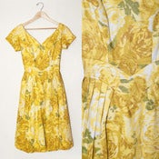 Image of RIVIERA LIMON DRESS // S
