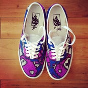 Image of Limited Purple Diamond Hunter Classic SLOTH Vans
