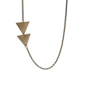 Image of Asymmetrical Arrow Necklace