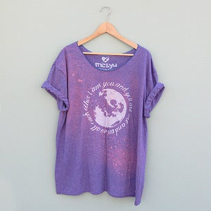 Image of Moons and Stars Oversize T-shirt by Me &amp; Yu