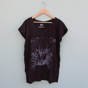 Image of Cat Face T - Shirt by Me &amp; Yu