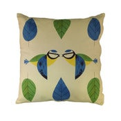 Image of Birdy Blue Tit Cushion