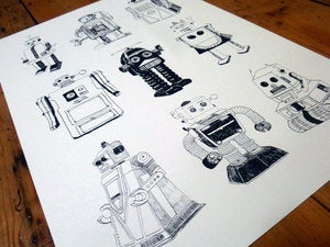 Image of Robots Digital Print