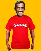 Image of Orchard Text Shadow Tee - Red