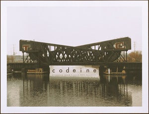 Image of Codeine Barcelona 2012 poster