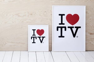 Image of Print I Heart TV