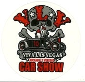 Image of VLV 10 Car Show Window Cling