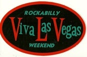 Image of VLV Rockabilly Weekend Sticker