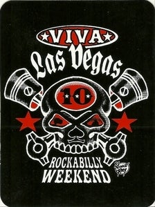 Image of VLV 10 Rockbilly Weekend Sticker