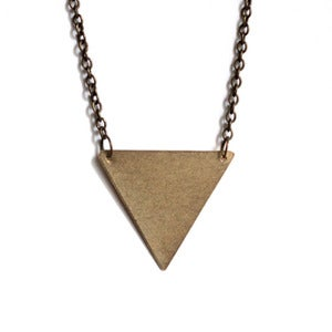 Image of Inverted Triangle Necklace