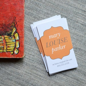 Image of Mary Louise Parker Calling Cards