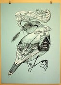 Image of Birdhouse Print