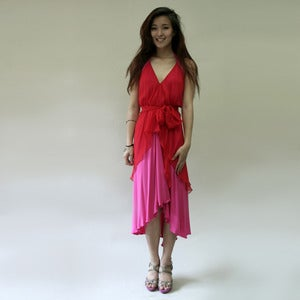Image of Summer Sweetheart Dress- Scarlet