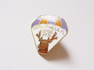 Image of Hot Air Balloon Pin Badge