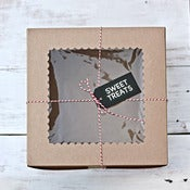 Image of Large Kraft Cake Box