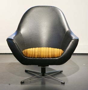 Image of FAUTEUIL EN SKA VINTAGE ANNES 60 - REF.1043