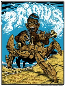 Image of Official PRIMUS poster. artist Copies 