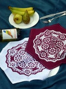 Image of Printed Hexagonal Napkins