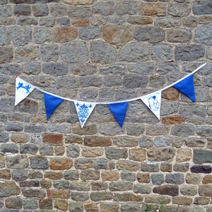 Image of Button-Up Bunting - Love Jubilee Blue