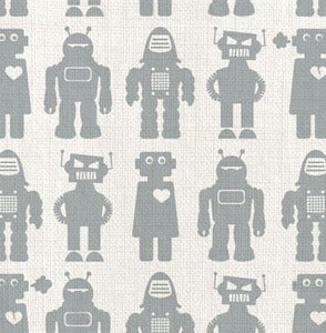 Image of solid robots - fabric strike off