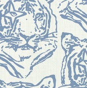 Image of star tiger - fabric sample