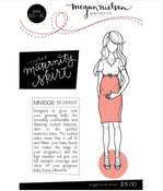 Image of Megan Nielsen Patterns : Ruched Maternity Skirt
