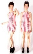 Image of Carwash Dress:Red Stripes