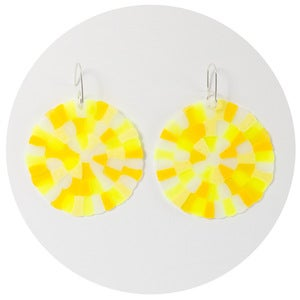 Image of Colourific Earrings (yellow multimix)