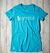 Gymdoll Logo Tee - Turquoise