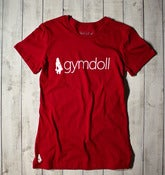 Gymdoll Logo Tee - Red