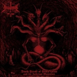 Image of Hellvetron - Death Scroll Of Seven Hells And It's Infernal Majesties CD