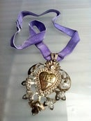 Image of Vintage Italian purple necklace