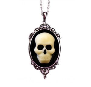 Image of Skull Cameo Necklace - Small