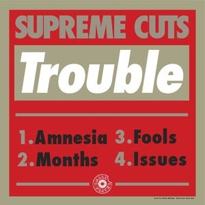 "Image of Supreme Cuts ""Trouble EP"" (SPR004)"