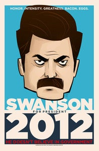 Image of Swanson for President