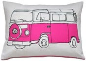 Image of Campervan Illustration Cushion