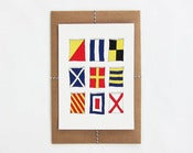 Image of Nautical Flags Print