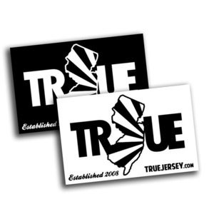 Image of True Jersey Stickers