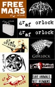 Image of Graf Orlock Assorted Patches $1 back again!