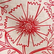 Image of Linen Tea Towel • Tomato Filigree