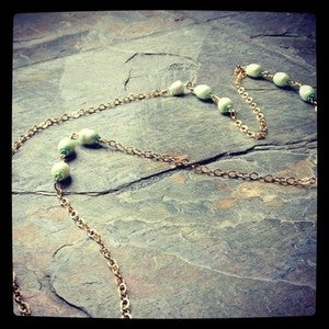 Image of Poppy Pearl Necklace