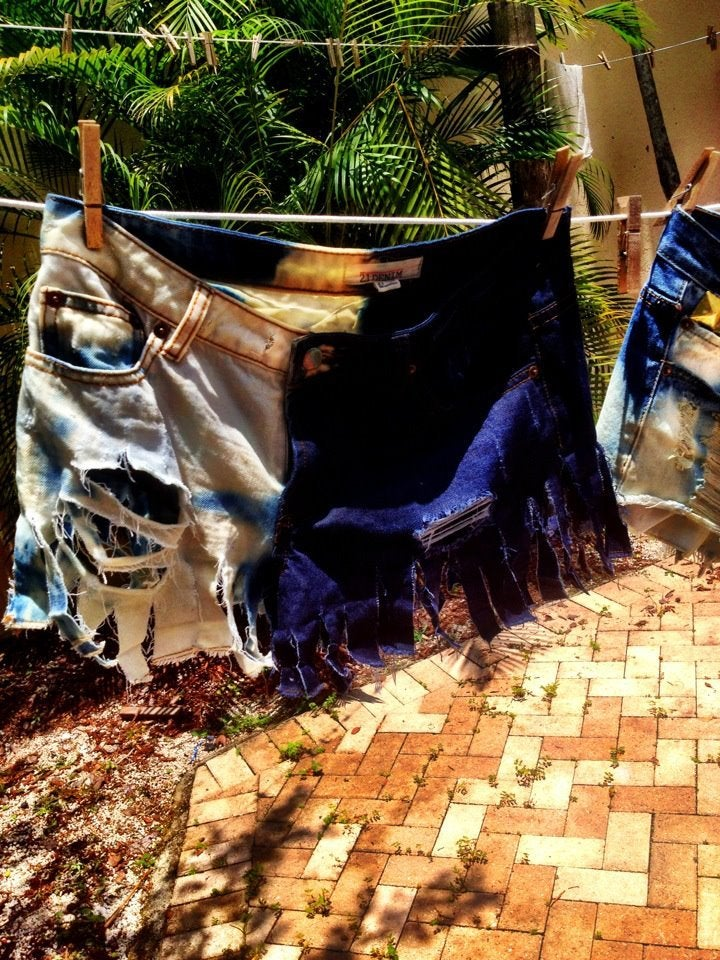 Image of SLS raunchy shorts
