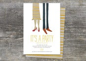 Image of Party Shoes Invite (10)