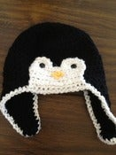 Image of Penguin Crochet Hat - ALL sizes