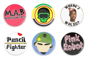 Image of Fly Mutant Button Pack #2